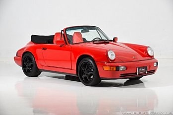 1990 porsche 911 Cabriolet for sale 101000144